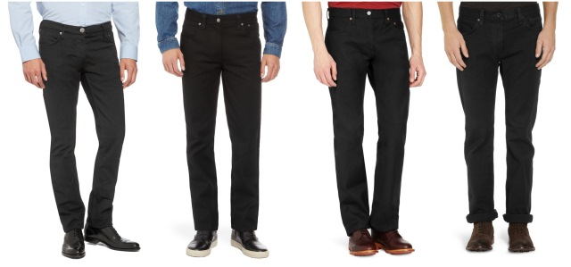 siyah erkek kot pantolon modelleri