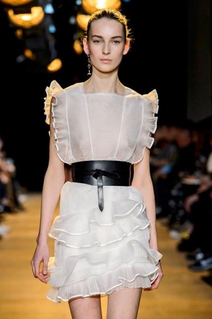 kemerli elbise modelleri