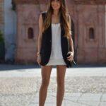kolsuz blazer ceket elbise kombini