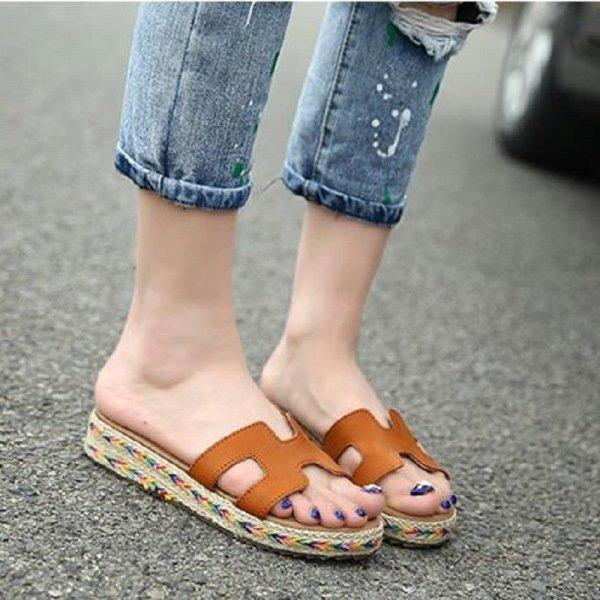terlik sandalet modeli